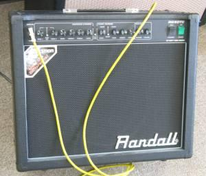 Randall 50 Watt All Tube Combo Amp - $319 (October
