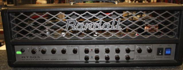 Randall RT Series RT503H 50W Tube Guitar Amp Head