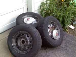 Ranger wheels and tires - $50 (oneonta)