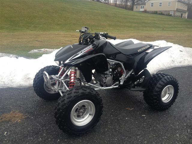 raptor yfz ltz trx 450r sport quads 50 used atv 39 s in stock for sale in frystown. Black Bedroom Furniture Sets. Home Design Ideas