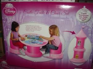 RAPUNZEL CASTLE TABLE AND CHAIR SET (MINE RD SPOTSY for sale in Fredericksburg Virginia & RAPUNZEL CASTLE TABLE AND CHAIR SET (MINE RD SPOTSY) for Sale in ...