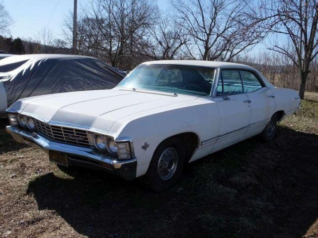 1967 chevrolet impala 4 door top with factory a 88842