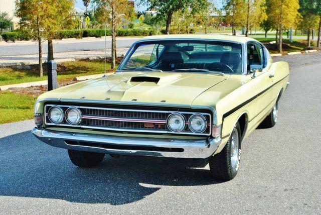 Rare 1969 Ford Torino GT Well Documented Classic Fastback ...