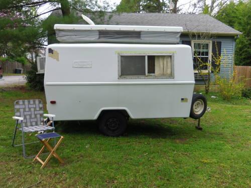 Rare 1972 Compact Jr Fiberglass trailer for Sale in ...