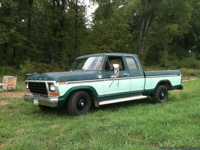 Ford F Extended Cab Long Bed