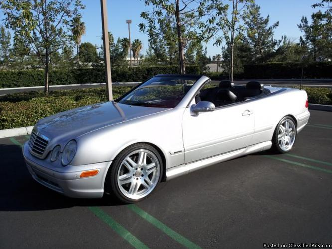 rare 2000 mercedes brabus clk 430 low miles for sale in. Black Bedroom Furniture Sets. Home Design Ideas