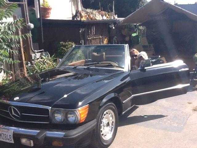 Rare & Classic 1979 450 SL Mercedes convertible of rag