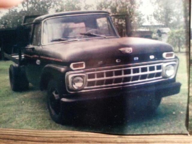 Rare Classic Ford Truck 1965 F350 Flatbed All Original Runs For Sale