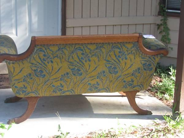 Rare Duncan Phyfe Settee - REDUCED - $85