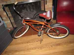 Rare Kids Vintage Firestone GTO Flame Bike 1960's
