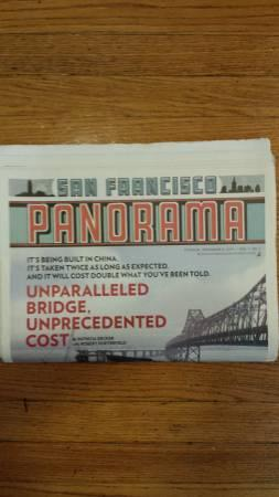 Rare McSweeney's newspaper: The San Francisco Panorama