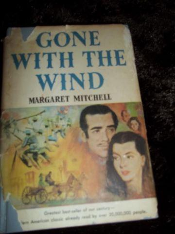 RARE-VINTAGE BOOK-GONE WITH THE WIND-BOOK CLUB ED