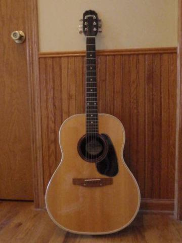 rare vintage ovation applause electro acoustic guitar made in usa for sale in bartlett. Black Bedroom Furniture Sets. Home Design Ideas