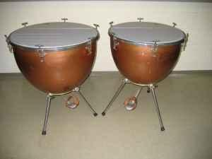 rare vintage wfl ludwig presto aluminum timpani seward for sale in lincoln nebraska. Black Bedroom Furniture Sets. Home Design Ideas