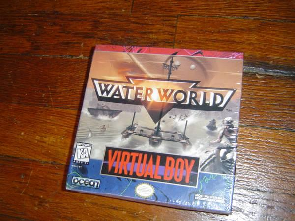 RARE Water World for Nintendo Virtual Boy complete!! -