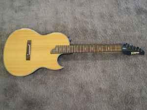 Rare Kramer Condor Acoustic Electric Guitar Hickory
