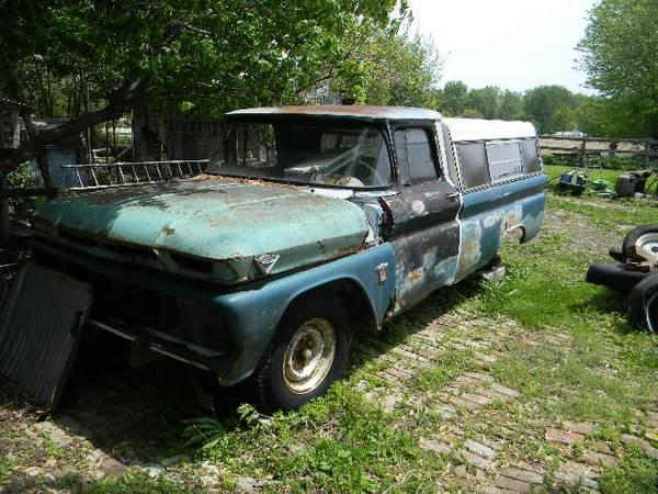 rat rod truck cab 64 65 66 chevy for sale in pittsfield illinois classified. Black Bedroom Furniture Sets. Home Design Ideas