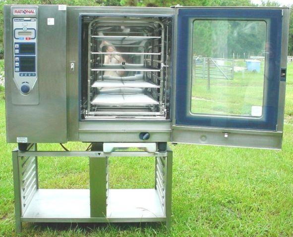 Rational Oven Steam Convection Cpc 102 480v With Stand For Sale In Parrish  Florida Classified