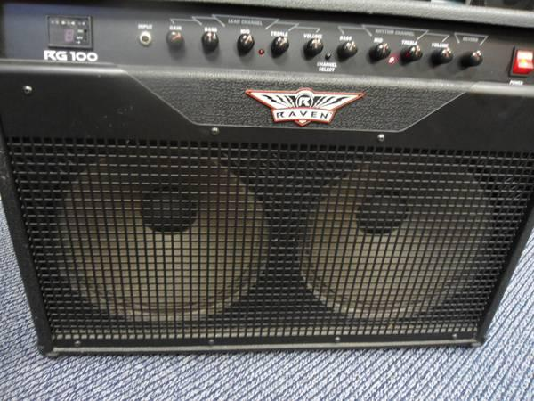 raven rg 100 combo 2 12 guitar amp for sale in crawfordville florida classified. Black Bedroom Furniture Sets. Home Design Ideas