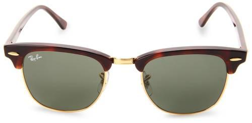 RAY BAN CLUBMASTER SUNGLASSES FOR MEN RB3016 COL W0366 MOCK TORTOISE ...