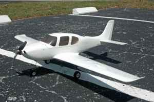 Rc airplane Ultrafly Cirrus Sr-22 - $150