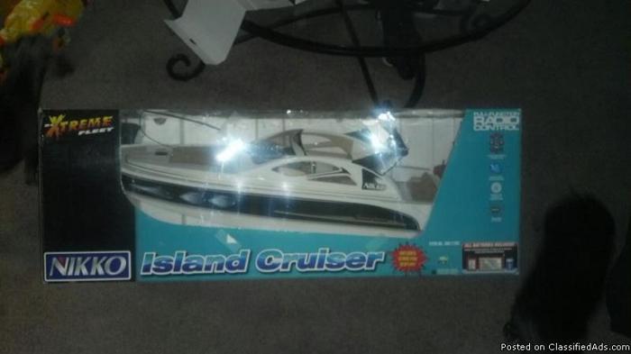 RC Boat, RC Truck, Nerf Vulcan, Bingo game, Lego U-Build Sorry Game ...