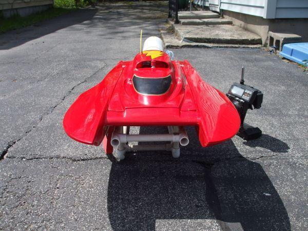 RC boat stryker gas hydroplane - $650 Tonawanda