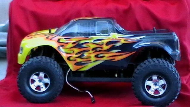 rc exeed brushless 4x4 truck
