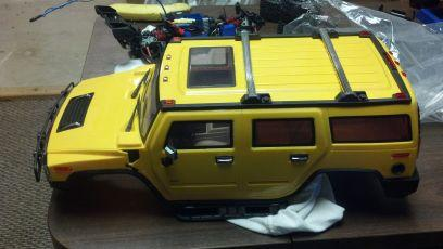rc hummer 2 body - $30 (easton)