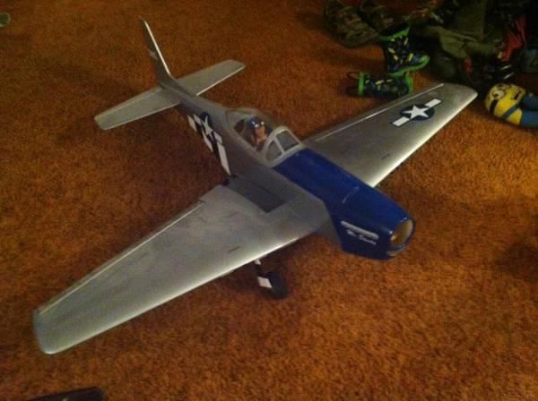 RC plane-Great Planes P-51 mustang - for Sale in Soldotna, Alaska ...