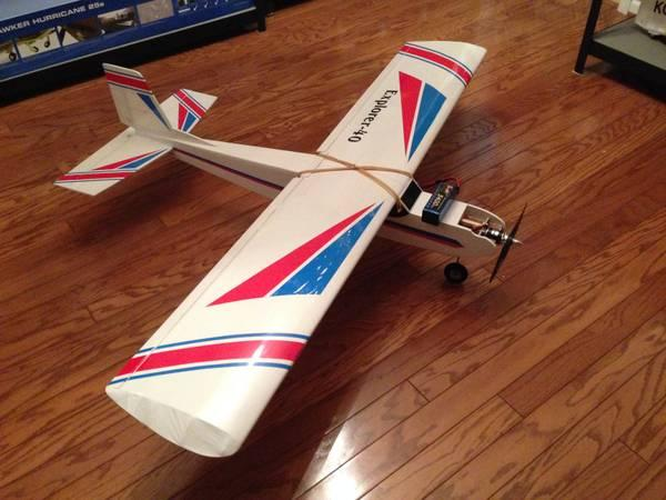 RC Rx-R High Wing Explorer 40. 65