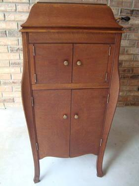 RCA OAK CABINET VICTROLA MFG VICTOR TALKING MACHINE