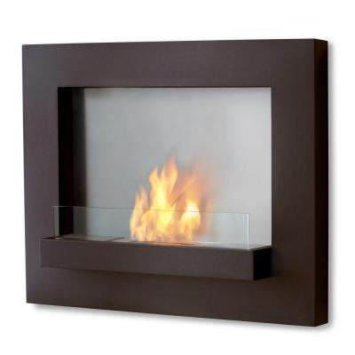real flame edgerton 36 in wall mount gel fuel fireplace in rust rh boise americanlisted com wall mounted gel fireplace reviews wall hanging gel fireplace
