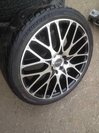 Used Tires Flint Mi >> Really Nice 17 Racing Rims 4 Lug Cyclone S With Tires For