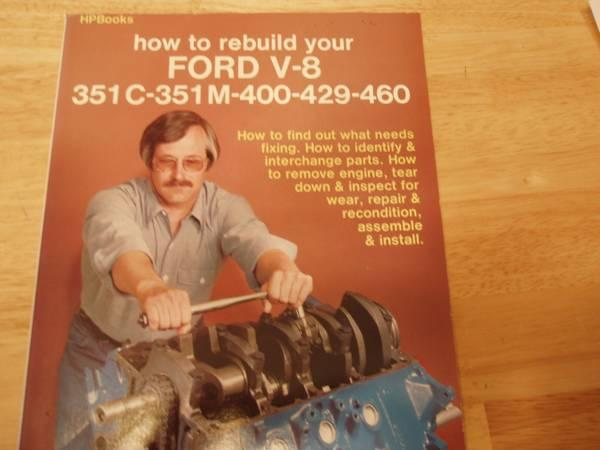 how to rebuild big block ford engines book