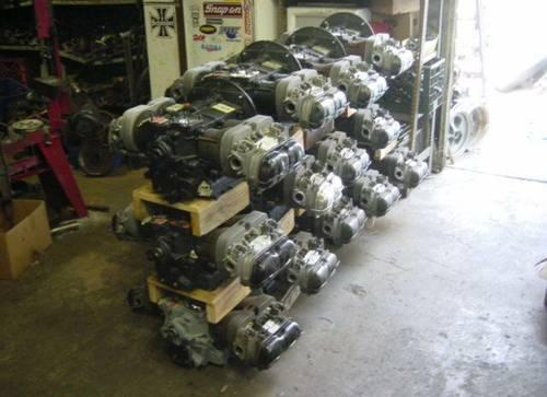 Rebuilt 1600 VW engines