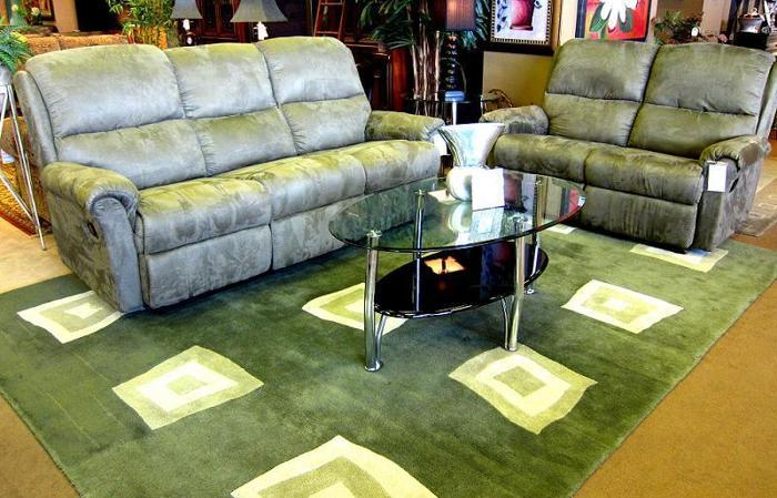 Reclining Sofa Or Loveseat   $300 (LIFESTYLE FURNITURE