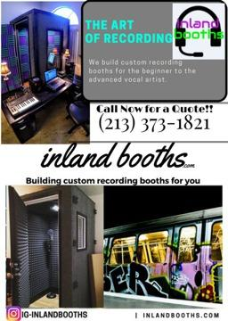 Recording booth/Vocal isolation/Home studio/Producers