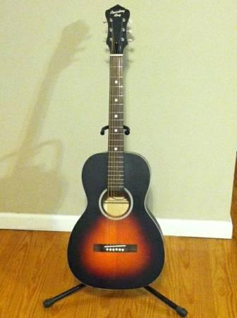 Recording King Acoustic Guitar - $125