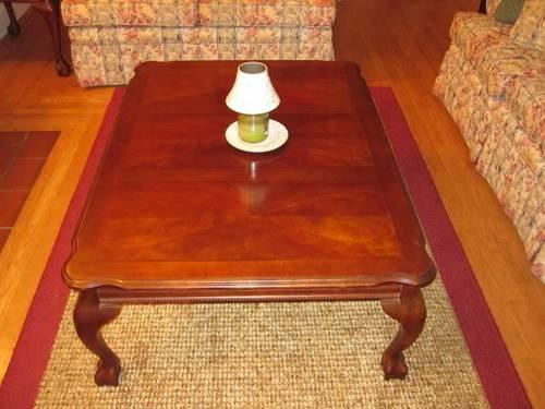 Rectangle Coffee Table Cherry Wood Brookfield For Sale In Brookfield Connecticut