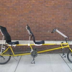 Recumbent tandem used - $1300 (Council Bluffs)
