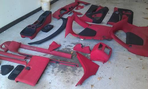 Red And Black Tweed Interior For Pontiac Sunfire For Sale In Brooksville Florida Classified