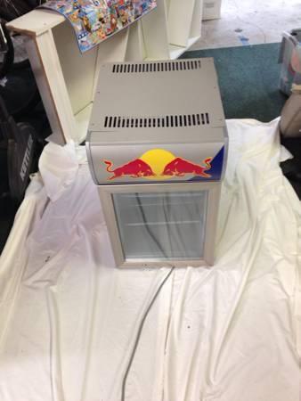 Red Bull Mini Fridge - $250