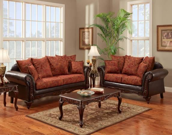 Red Elegant Sofa And Love Seat New In Plastic For Sale In Athens Alabama Classified