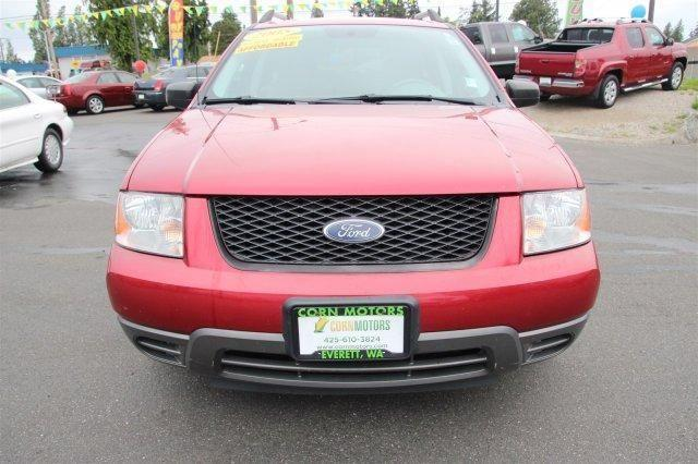 Red Fire Metallic 2005 Ford Freestyle Se For Sale In