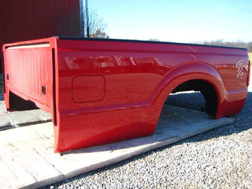 Red Ford Super Duty F250 F350 8 Longbed Truck Bed New Take