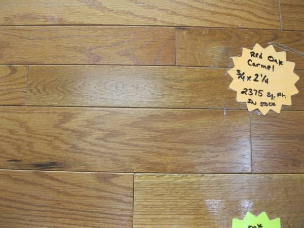 Red Oak Solid Butterscotch Hardwood Flooring For Sale In