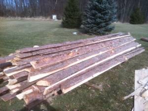 Red Pine Shiplap wood (Mason ) for Sale in Lansing ...
