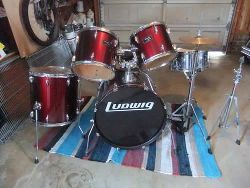 Red Tama Rock Star Drum Set For For Sale In Wake Forest North