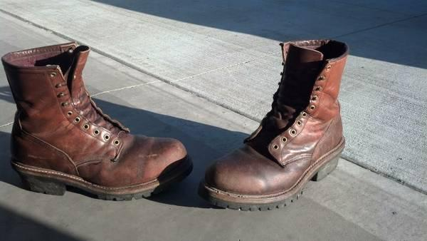 Red Wing Logger Boots 4418 Size 11 5d For Sale In